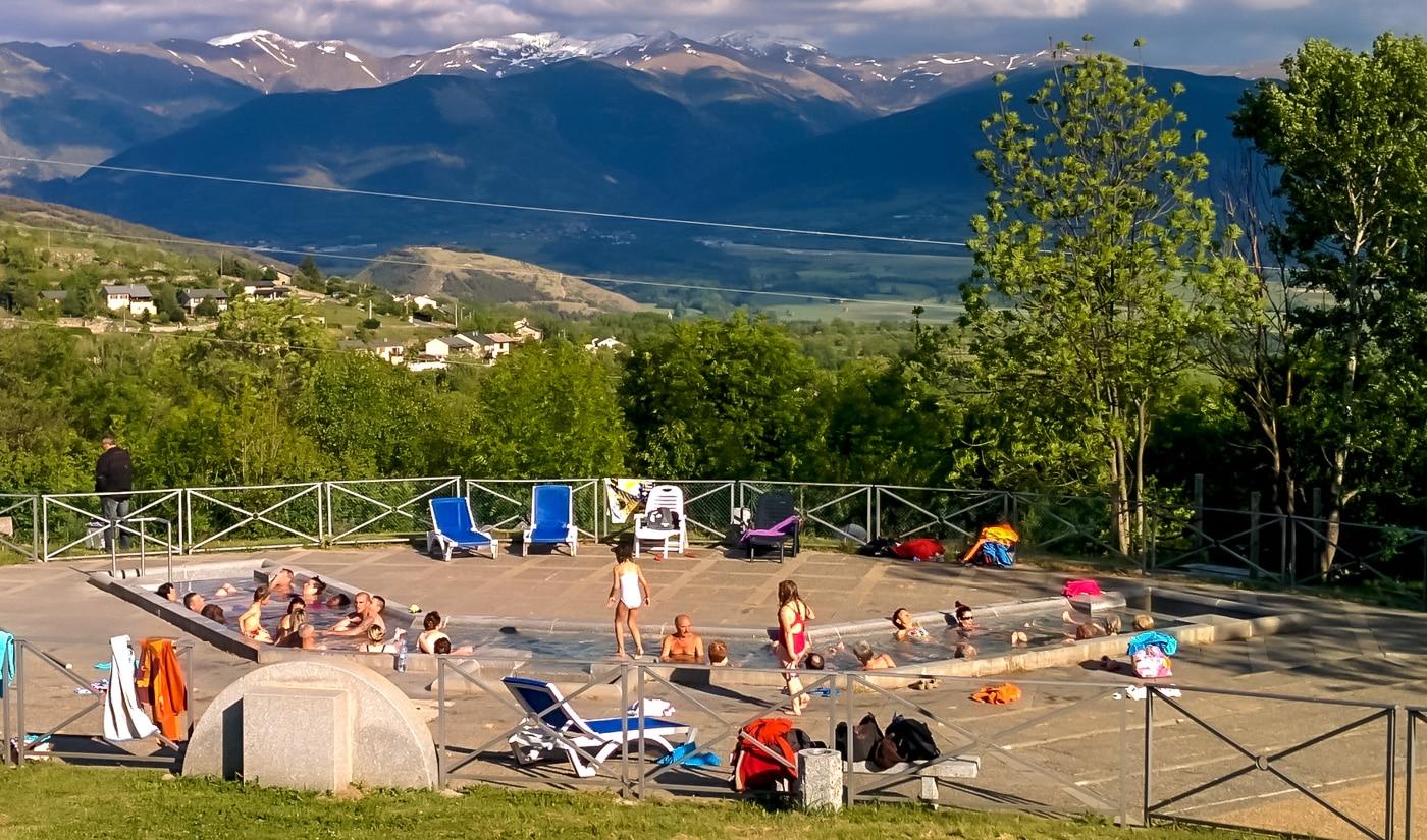 Hot springs in Dorres